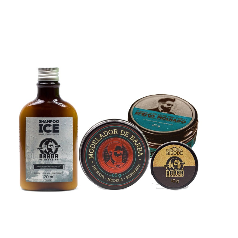 c48ccc1ff Kit Modelador + Limpeza - Shampoo Ice