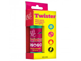 Óleo De Massagem Spray Twister Soft Love - 15 ml
