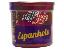 Óleo de Massagem Tri Ball Espanhola Soft Love | New Old Man