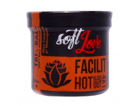 Óleo de Massagem Tri Ball Facilit Hot Plus Soft Love - 12gr