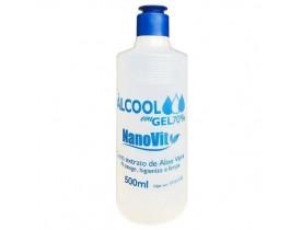 Álcool Em Gel 70% 500ml NanoVit | New Old Man