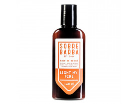 Balm de Barba Sobrebarba Light my Fire - 140ml  New Old Man