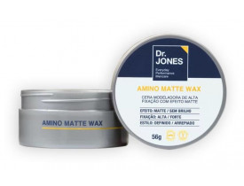 Cera Modeladora para Cabelos Amino Matte Wax Dr. Jones - 56gr | New Old Man