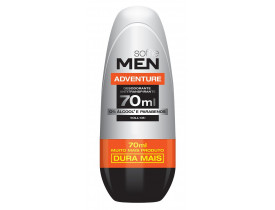 Desodorante Rollon Men Adventure Soffie - 70ml | New Old Man