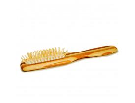 Escova de Madeira Bambo Para Barba e Cabelo Barba Brasil | New Old Man