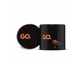 Kit 2 Gel Para Cabelo Go Matte - 50gr | New Old Man