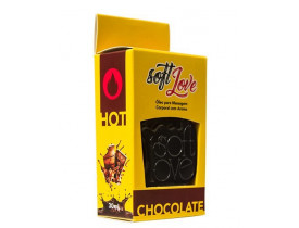 Gel de Massagem Comestível HOT Chocolate Soft Love - 30ml