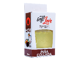 Gel de Massagem Comestível Hot Pina Colada Soft Love - 30ml | New Old Man