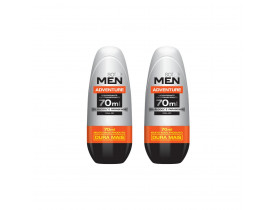 Kit 2 Desodorante Rollon Men Adventure Soffie - 70ml | New Old Man