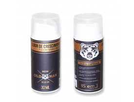 Kit 2 Elixir de Crescimento de Barba New Old Man - 30ml | New Old Man