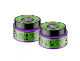 Kit 2 Pomada Para Cabelo Efeito Brilho water soluble shine wax don alcides freak show - 100gr | New Old Man