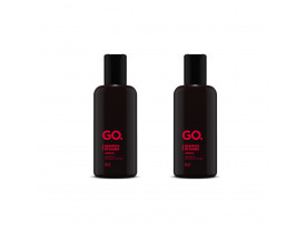 Kit 2 Shampoo Para Barba GO. Lúpulo - 140ml