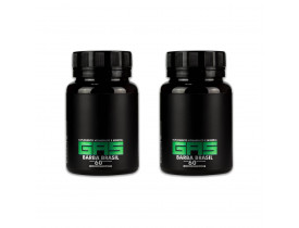 Kit 2 Suplemento Vitamínico Gas Para Crescimento de Cabelo e Barba - Barba Brasil