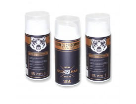 Kit 3 Elixir de Crescimento de Barba New Old Man - 30ml