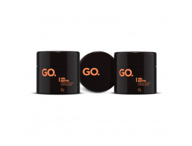 Kit 3 Gel Para Cabelo Go Matte - 50gr | New Old Man