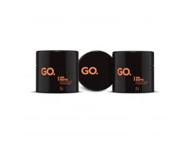 Kit 3 Gel Para Cabelo GO. Matte - 50gr