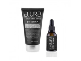 Kit Balm e Óleo Para Barba Black Barba Urbana - B.Urb | New Old Man