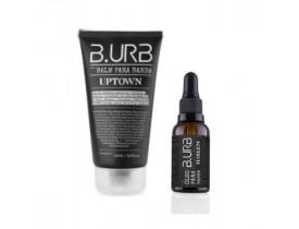 Kit Balm e Óleo Para Barba Black Barba Urbana - B.Urb