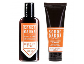 Kit Barba No Banho Light My Fire Sobrebarba | New Old Man