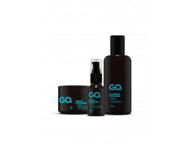 Kit Barba Completo GO Fresh | New Old Man