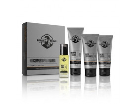 Kit Completo Citrus Wood  - Shampoo, Balm, Óleo e Esfoliante Para Barba Barba Brava | New Old Man