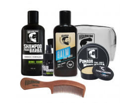 Kit Completo O Barbudo Para Barba Escura | New Old Man