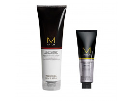 Kit Modelador Para Cabelo Mitch Construction Paste e Shampoo Mitch Heavy Hitter Paul Mitchell