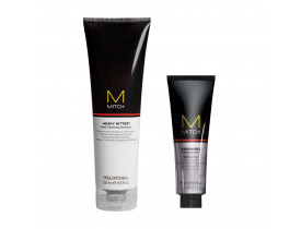 Kit Modelador Hardwire + Limpeza Profunda  Mitch Paul Mitchell | New Old Man