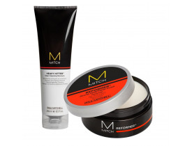 Kit Modelador Reformer + Limpeza Profunda  Mitch Paul Mitchell | New Old Man