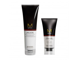 Kit Modelador Steady Crip + Limpeza Profunda  Mitch Paul Mitchell | New Old Man