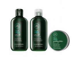 Kit Paul Mitchell Tea Tree Special + Pomada Para Cabelo Grooming Pomade | New Old Man
