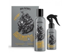 Kit Peeling Pré-Shampoo + Fator de Crescimento Capilar Don Alcides | New Old Man