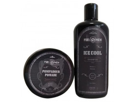 Kit Pomada e Shampoo Ice Fuel4men