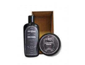 Kit Pomada e Shampoo Ice Fuel4men | New Old Man