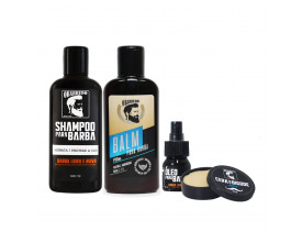 Kit Barba Completo O Barbudo | New Old Man