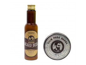 Kit Shampoo Beer e Balm Barba de Respeito | New Old Man