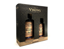 Kit Shampoo e Balm Para Barba Mar Viking | New Old Man