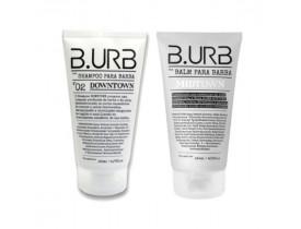 Kit Shampoo e Balm Para Barba White Barba Urbana - B.Urb | New Old Man