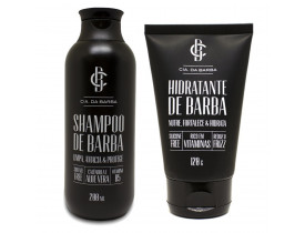 Kit Shampoo e Hidratante Para Barba Cia da Barba | New Old Man