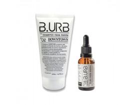 Kit Shampoo e Óleo Para Barba Black Barba Urbana - B.Urb | New Old Man