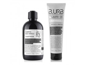 Kit Shampoo e hidratante Para Cabelo - Barba Urbana - B.Urb