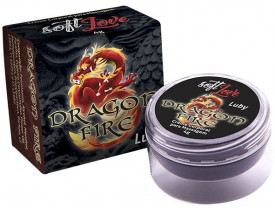 Pomada de Massagem Íntima e Lubrificante Luby 4G Dragon Fire Soft Love - 4gr