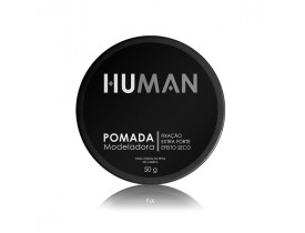 Pomada Modeladora Para Cabelo Extra Forte Efeito Seco Human - 50gr