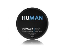 Pomada Modeladora Para Cabelo Forte Efeito Seco Human - 50gr