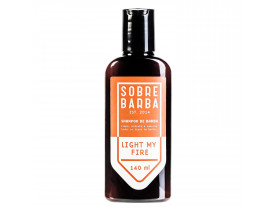 Shampoo Para Barba Sobrebarba Light my Fire - 140ml