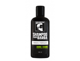 Shampoo para barba escura O Barbudo - 140ml | New Old Man