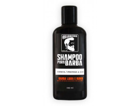 Shampoo para barba loira e ruiva O Barbudo - 140ml | New Old Man