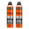 Kit 2 Desodorante Aerosol Men Adventure Soffie - 300ml | New Old Man