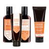 Kit Shampoo, Balm, Condicionador e Esfoliante Para Barba Light My Fire Sobrebarba | New Old Man