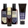 Kit Shampoo, Balm, Condicionador e Esfoliante Para Barba Jungle Boogie Sobrebarba | New Old Man